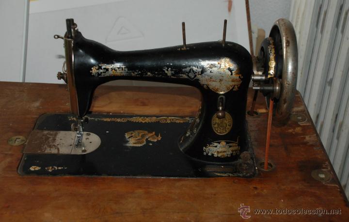 antigua maquina coser singer con mesa y pedal a - Comprar