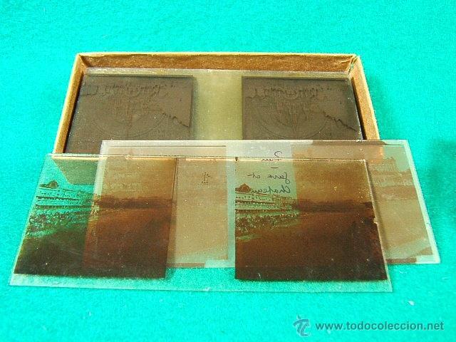 Antigüedades: STEREOSCOPE-16 IMAGENES DOBLES POSITIVAS ESTEREOSCOPICAS DE FRANCIA-11,5X4,5CM-FINAL DEL SIGLO XIX. - Foto 2 - 40973231