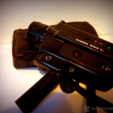 Antigüedades: ANTIGUA VIDEOCAMARA SUPER 8 CHINON 313 P XL MADE IN JAPAN CON ESTUCHE EN PIEL, 1980 - 82. Lote 40986522