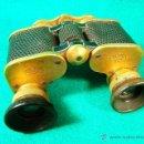 Antigüedades: PRISMATICOS-BINOCULARES-TELEATER Nº200642-CARL ZEISS JENA-3 X-GERMANY-TEATRO-8X7X4 CM-1915/1917 ?.. Lote 40987677