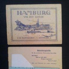 Antigüedades: GAFAS Y LIBRITO CON FOTOGRAFÍAS EN TRES DIMENSIONES DE HAMBURGO, 1946. Lote 41011608