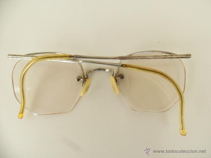 GAFAS, ANTEOJOS O LENTES ALEMANES -APRAN - AÑOS 40 - COMPLETOS Y ORIGINALES (Antigüedades - Técnicas - Instrumentos Ópticos - Gafas Antiguas)