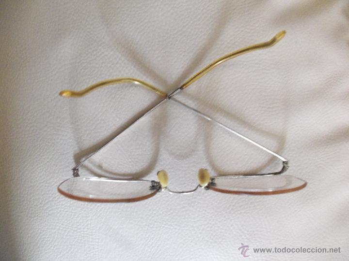 Antigüedades: Gafas, anteojos o lentes Alemanes -Apran - Años 40 - Completos y originales - Foto 2 - 111669239