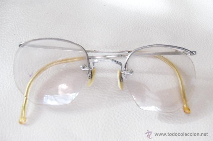 Antigüedades: Gafas, anteojos o lentes Alemanes -Apran - Años 40 - Completos y originales - Foto 3 - 111669239