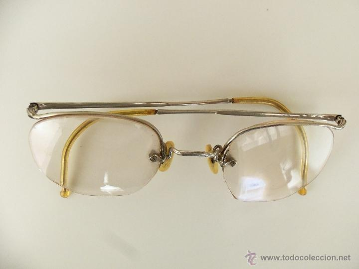 Antigüedades: Gafas, anteojos o lentes Alemanes -Apran - Años 40 - Completos y originales - Foto 4 - 111669239