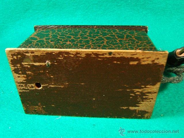 Antigüedades: LINTERNA MAGICA CON BOMBILLA Y LUZ GRADUABLE SOMBRAS CHINESCAS,QUIZAS TAMBIEN....-FINAL SIGLO XIX - Foto 8 - 41052007