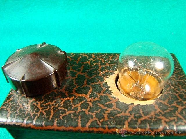 Antigüedades: LINTERNA MAGICA CON BOMBILLA Y LUZ GRADUABLE SOMBRAS CHINESCAS,QUIZAS TAMBIEN....-FINAL SIGLO XIX - Foto 9 - 41052007