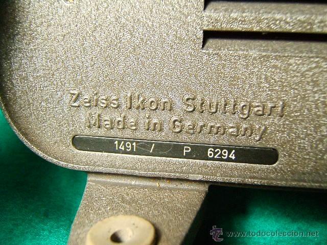 Antigüedades: PROYECTOR DE CINE MARCA ZEISS IKON MOVILUX 8-OBJETIVO CERTAR-MADE IN GERMANY-28X21X13 CM-AÑO 1950. - Foto 4 - 41055743