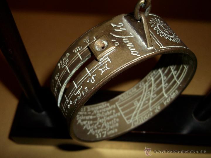 8e136387d3ea Precioso reloj de sol anular o de altura metal - Vendido en Subasta ...