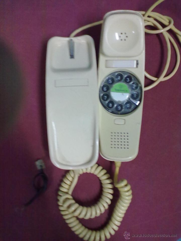 Teléfonos: TELEFONO GONDOLA COLOR HUESO DE SOBREMESA CITESA MALAGA ESPAÑA SIN COMPROBAR - Foto 2 - 41084590