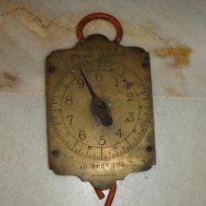 Antigüedades: ANTIGUA BASCULA INGLESA. SALTER´S - SPRING BALANCE. 10 LBS BY 1 OZ. Lote 41120300