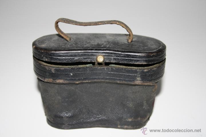 Antigüedades: BINOCULARES EN METAL Y CUERO - JUAN LUBAT ÓPTICO VALENCIA - FINALES S.XIX - Foto 10 - 160348198