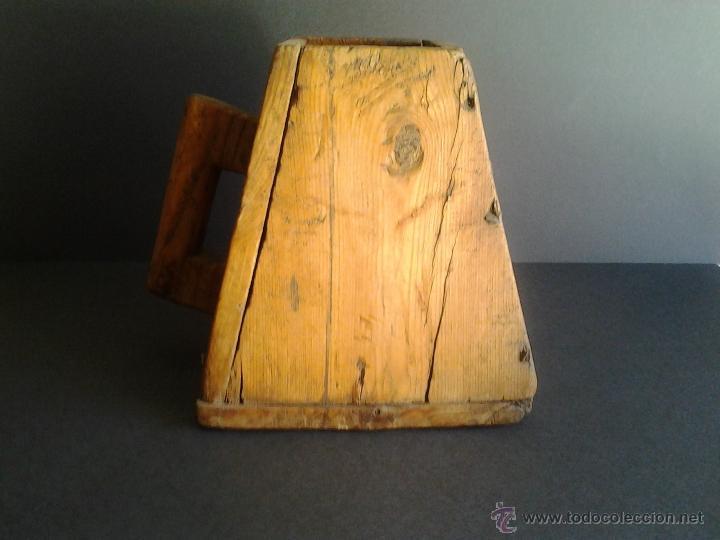Antigüedades: Almud medida Aragonesa de cereal o grano - Foto 3 - 41264094