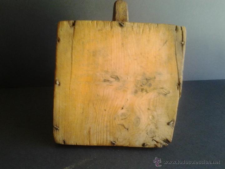 Antigüedades: Almud medida Aragonesa de cereal o grano - Foto 5 - 41264094