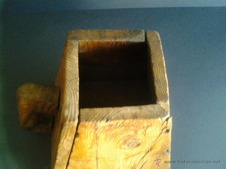 Antigüedades: Almud medida Aragonesa de cereal o grano - Foto 6 - 41264094