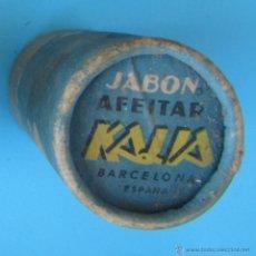 Antigüedades: ENVASE DE CARTÓN PARA CONTENER BARRA DE JABÓN DE AFEITAR KALIA, BARCELONA.. Lote 41269819