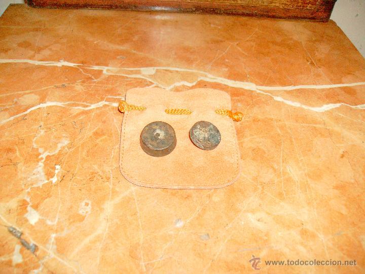 Antigüedades: lote de 1 onza y media onza. - Foto 3 - 41296296