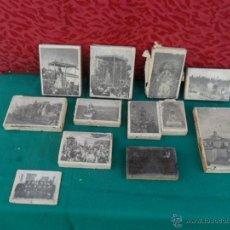 Antigüedades: 12 PLANCHAS DE NEGATIVOS DE LA IGLESIA DE MONTEMAYOR DE MOGUER. Lote 41300562