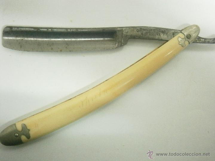NAVAJA DE AFEITAR HELJESTRAND ESKILTUNA (Antigüedades - Técnicas - Barbería - Navajas Antiguas)