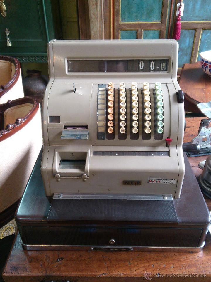 CAJA REGISTRADORA NCR (Antigüedades - Técnicas - Aparatos de Cálculo - Cajas Registradoras Antiguas)