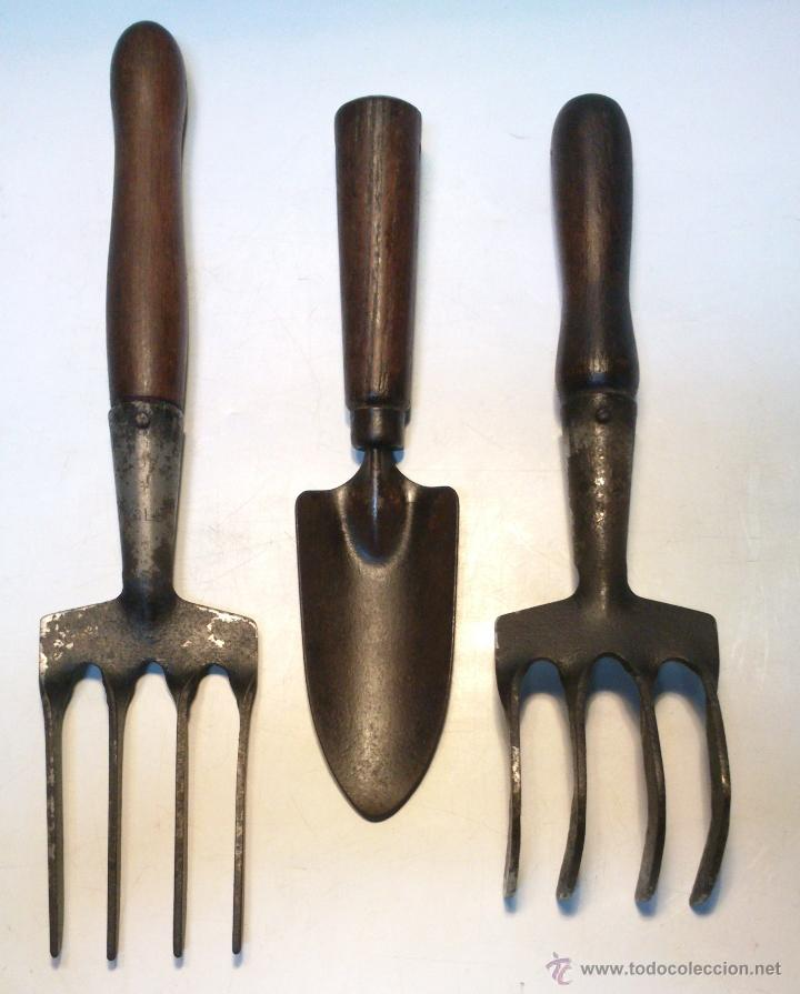 Juego 3 herramientas profesionales de jardineri comprar - Herramientas de jardineria ...