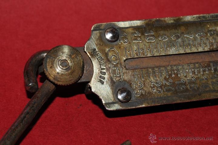 Antigüedades: ANTIGUA BALANZA URKO CON MUELLE DINAMOMETRO - Foto 4 - 41340539