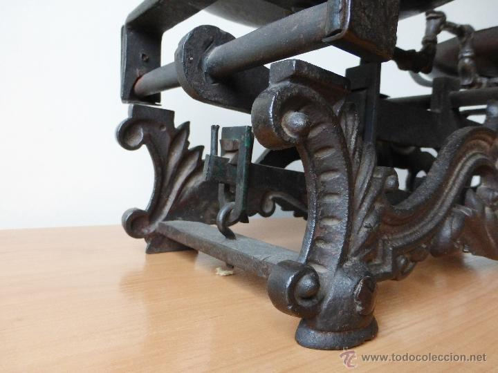 Antigüedades: BALANZA DE DOS 2 PLATOS DE 20 KILOS. JUEGO DE PESAS. 1905? - Foto 3 - 41361657