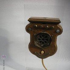 Teléfonos: TELEFONO BAILLEUX MURAL 1900. Lote 10641533