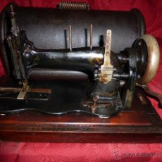 Antigüedades: MAQUINA DE COSER ANTIGUA DE MEDIADOS DE 1800. Lote 41385923