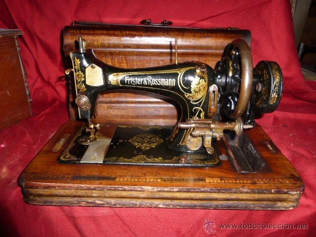 MAQUINA DE COSER ANTIGUA DE LA MARCA FRISTER & ROOSMANN (Antigüedades - Técnicas - Máquinas de Coser Antiguas - Frister & Rossmann)