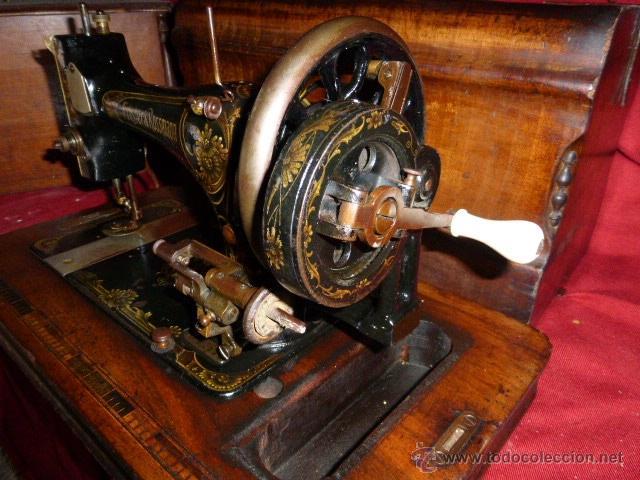 Antigüedades: MAQUINA DE COSER ANTIGUA DE LA MARCA FRISTER & ROOSMANN - Foto 4 - 41386475