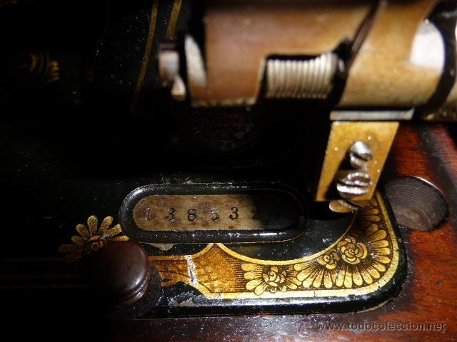 Antigüedades: MAQUINA DE COSER ANTIGUA DE LA MARCA FRISTER & ROOSMANN - Foto 5 - 41386475