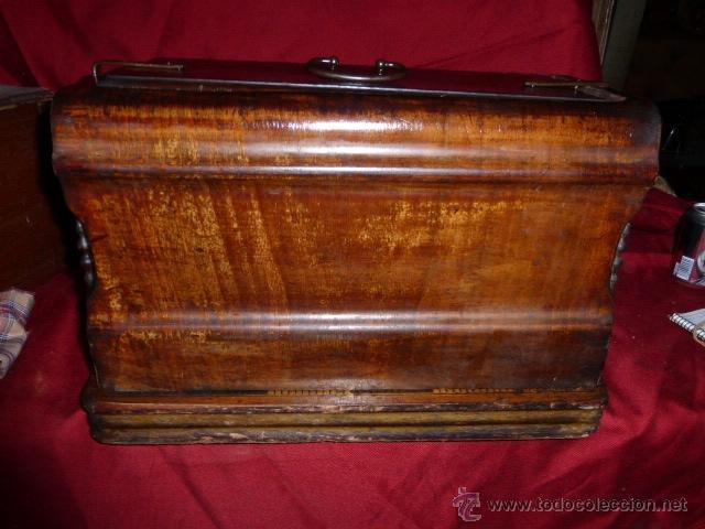 Antigüedades: MAQUINA DE COSER ANTIGUA DE LA MARCA FRISTER & ROOSMANN - Foto 8 - 41386475
