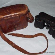 Antigüedades: BINOCULARES CARL ZEISS JENA MARINEGLAS 6X POSIBLEMENTE DE LOS AÑOS 20,CON SU FUNDA ORIGINAL. Lote 41409578