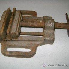 Antigüedades: TORNILLO MORDAZA ANTIGUO. Lote 32473261