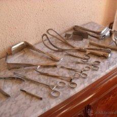 Antigüedades: GRAN LOTE HERRAMIENTAS MEDICAS,GINECOLOGIA. Lote 41452797