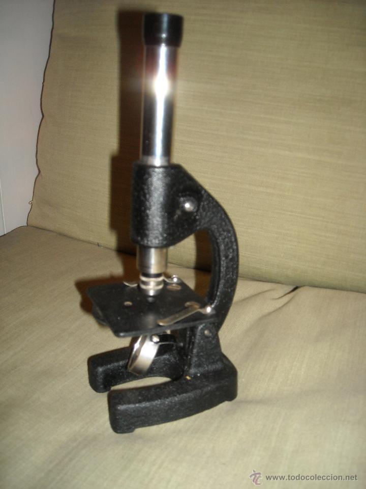 Antigüedades: Microscopio años 40 - Foto 2 - 41484677