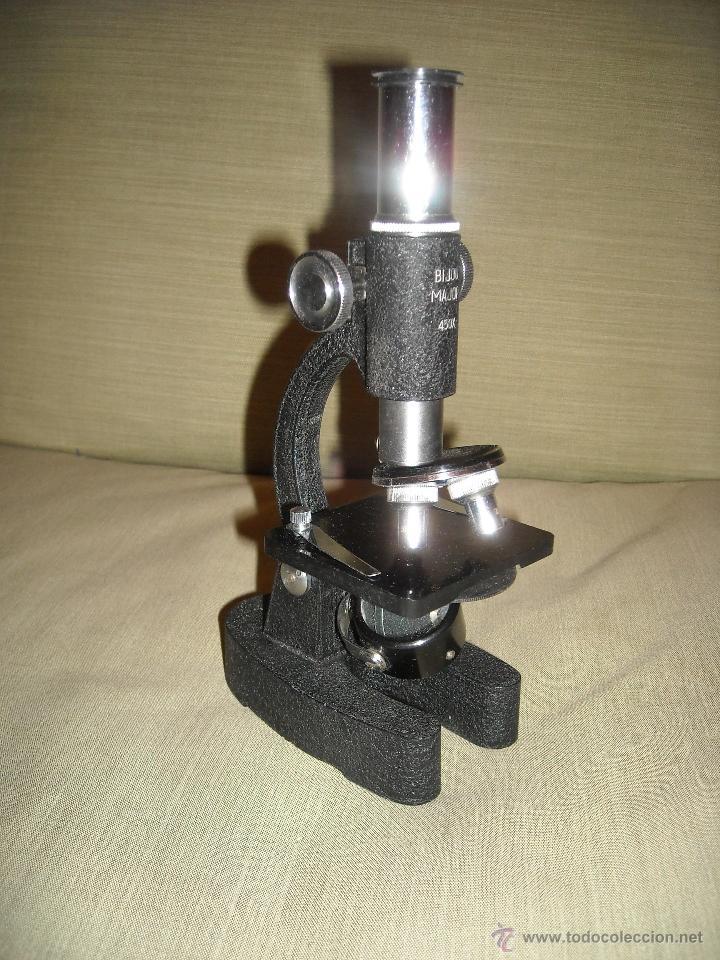 Antigüedades: Microscopio años 50 - Foto 2 - 41484707
