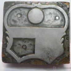 Antigüedades: TAMPON SELLO DE IMPRENTA BARCELONA BARÇA. Lote 41512682