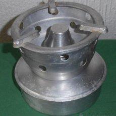 Antigüedades: HORNILLO DE ALUMINIO ALPA, INDUSTRIA ARGENTINA. Lote 41530449