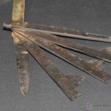 Antigüedades: ANTIGUA NAVAJA DE VETERINARIO. Lote 41353763