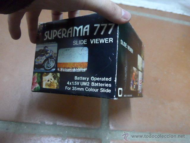 Antigüedades: Antiguo visor original, superama 777 slide viewer - Foto 8 - 41587417