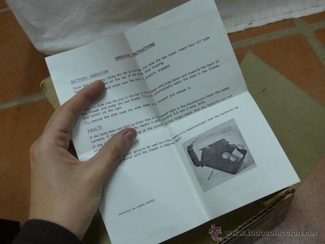 Antigüedades: Antiguo visor original, superama 777 slide viewer - Foto 10 - 41587417