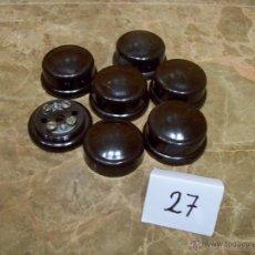 Antigüedades: ACCESORIOS ELECTRICOS ANTIGUOS. Lote 41612024