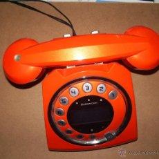Teléfonos: TELÉFONO COLOR NARANJA MUY DECORATIVO Y FUNCIONAL. MODELO EXCLUSIVO. Lote 41678340