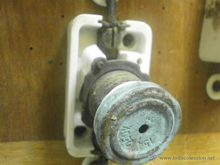 Antigüedades: ANTIGUO CUADRO ELECTRICO - Foto 2 - 41689708