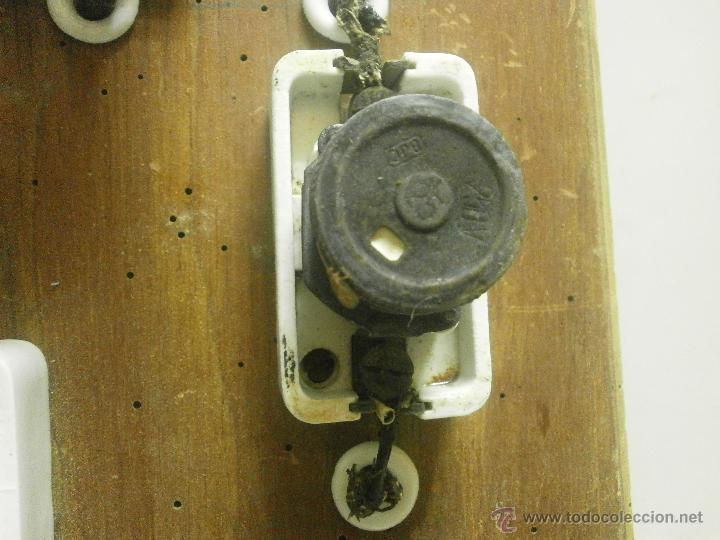 Antigüedades: ANTIGUO CUADRO ELECTRICO - Foto 3 - 41689708