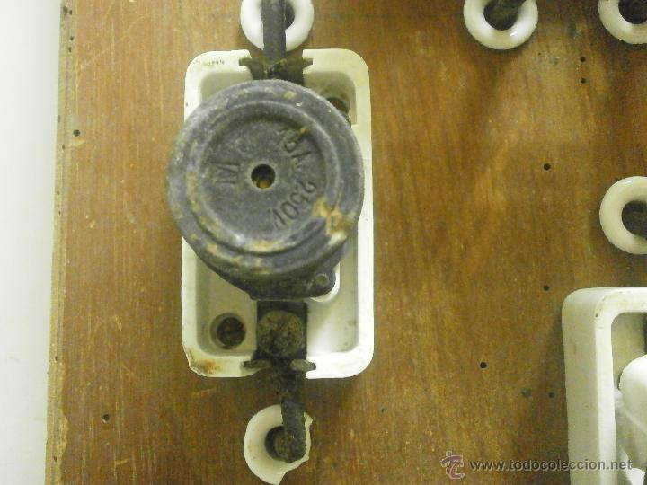 Antigüedades: ANTIGUO CUADRO ELECTRICO - Foto 4 - 41689708