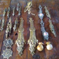 Antigüedades: LOTE DE TIRADORES BOCALLABES EMBELLECEDORES. Lote 41733679