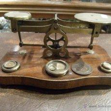 Antigüedades: BALANZA DE PRECISIÓN FRANCESA (PARA METALES PRECIOSOS). AÑO 1920-1930. Lote 41740102